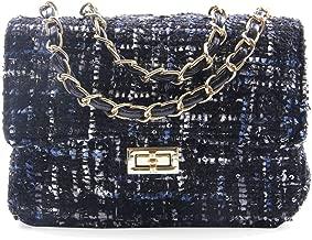 tweed bag and purse