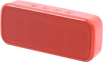Insignia – Portable Bluetooth Stereo Speaker – Red