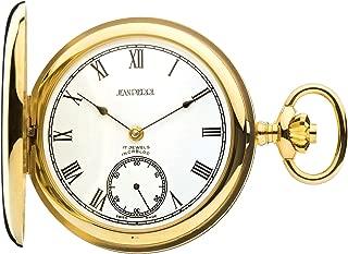 Full Hunter 9ct Gold Polished Pocket Watch - 17 Jewel Movement - Luxury Gift