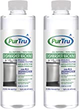 Dishwasher Machine Cleaner (2 Pack) - All Natural and Safe Descaling & Cleaning Solution For Viking, Wolf, Sub-Zero, Bosch, Whirlpool, Kenmore And All Built-In, Countertop and Freestanding Dishwashers