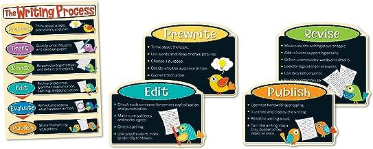 Carson Dellosa Boho Birds Writing Process Bulletin Board Set (110300)