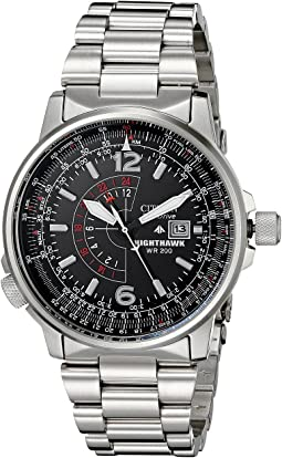 Citizen Watches - BJ7000-52E Eco-Drive Nighthawk Stainless Steel Watch