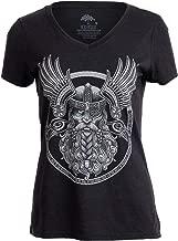 Odin   Norse Mythology God Valkyrie Valhalla Viking Raven Thor Women Top T-Shirt