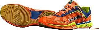 Salming Viper 3.0 Mens Indoor Court Shoe (Orange) for Squash, Badminton