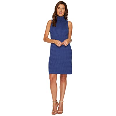 Tommy Bahama Pickford Sleeveless Turtleneck Dress (Eclipse) Women
