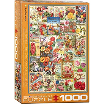 1000 Piece EuroGraphics Fruits Smithsonian Seed Catalogues Toys 6000-0818 Puzzle Eurographics