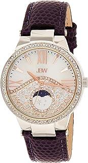 JBW Womens Quartz Watch, Analog Display and Leather Strap