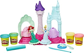 Play-Doh Royal Palace Playset Featuring Disney Princess Cinderella and Ariel, Ages 3 and up (Amazon Exclusive)