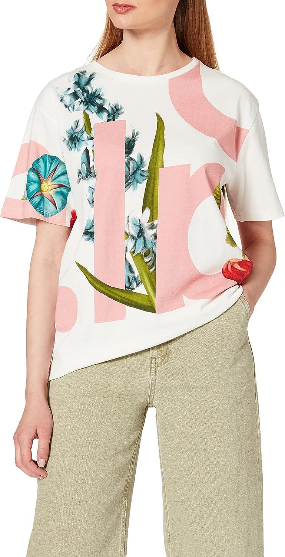 Desigual Women's Woman Virginia Beach Mall Brand new Knit Short T-Shirt Sleeve