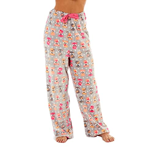 a311e040a2ee Ladies Soft Fleece Pyjama Pants. Penguin
