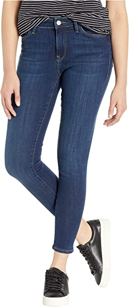 Alissa High-Rise Super Skinny Jeans in Dark Supersoft