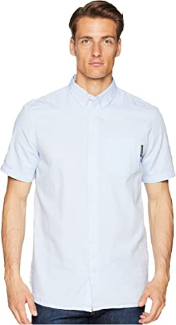 Classic Oxford Light Short Sleeve Woven Top