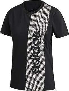 adidas Women's W D2M Brnd T T-Shirt