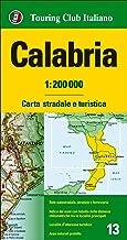Calabria 1:200.000. Carta stradale e turistica