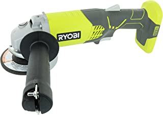 Ryobi P421 6500 RPM 4 1/2 Inch 18-Volt One+ Lithium Ion-Powered Angle Grinder (Battery..