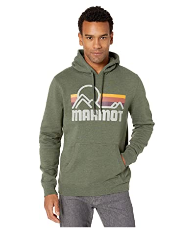 Marmot Coastal Hoodie (Dark Crocodile Heather) Men