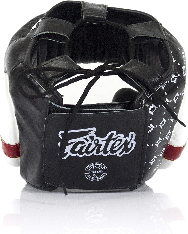 HG13 Diagonal Vision for Muay Thai Boxing Fairtex Headgear Head Guard Super Sparring HG3 Kickboxing HG10