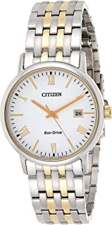 CITIZEN Mens Solar Powered Watch, Analog Display and Solid Stainless Steel Strap - BM6774-51A