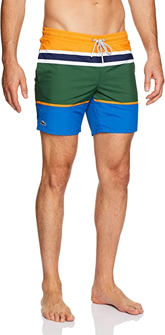 Lacoste Men's Colour Block Swim Short