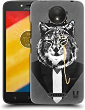 Head Case Designs Lynx Super Posh Hard Back Case Compatible for Motorola Moto C Plus