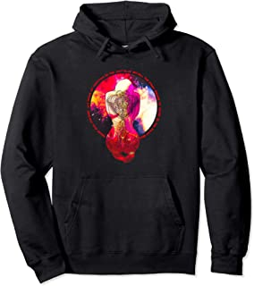 Magic Tattoo Inked Woman Praying to the Stars of the Galaxy Pullover Hoodie