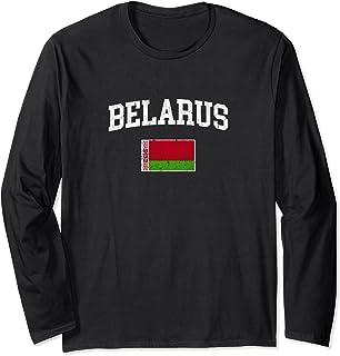 Vintage Belarus T-shirt Retro Belarusian Flag Shirt