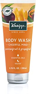 Kneipp Herbal Body Wash Gel Douche, Cheerful Mind Passionfruit & Grapefruit, 6.76 fl. Oz.