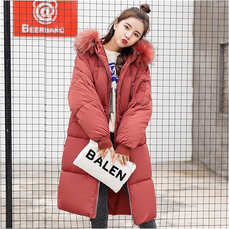 lxwi Chaqueta ultraligera cálida y resistente al viento para mujer, ropa de invierno más gruesa, versión coreana de plumón, chaqueta de plumas (color: azul cielo, talla: 3)