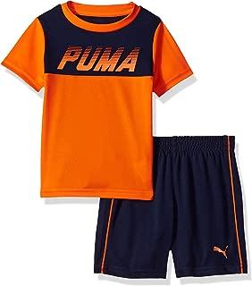 PUMA Baby Boys' 2 Piece Tee & Short Set