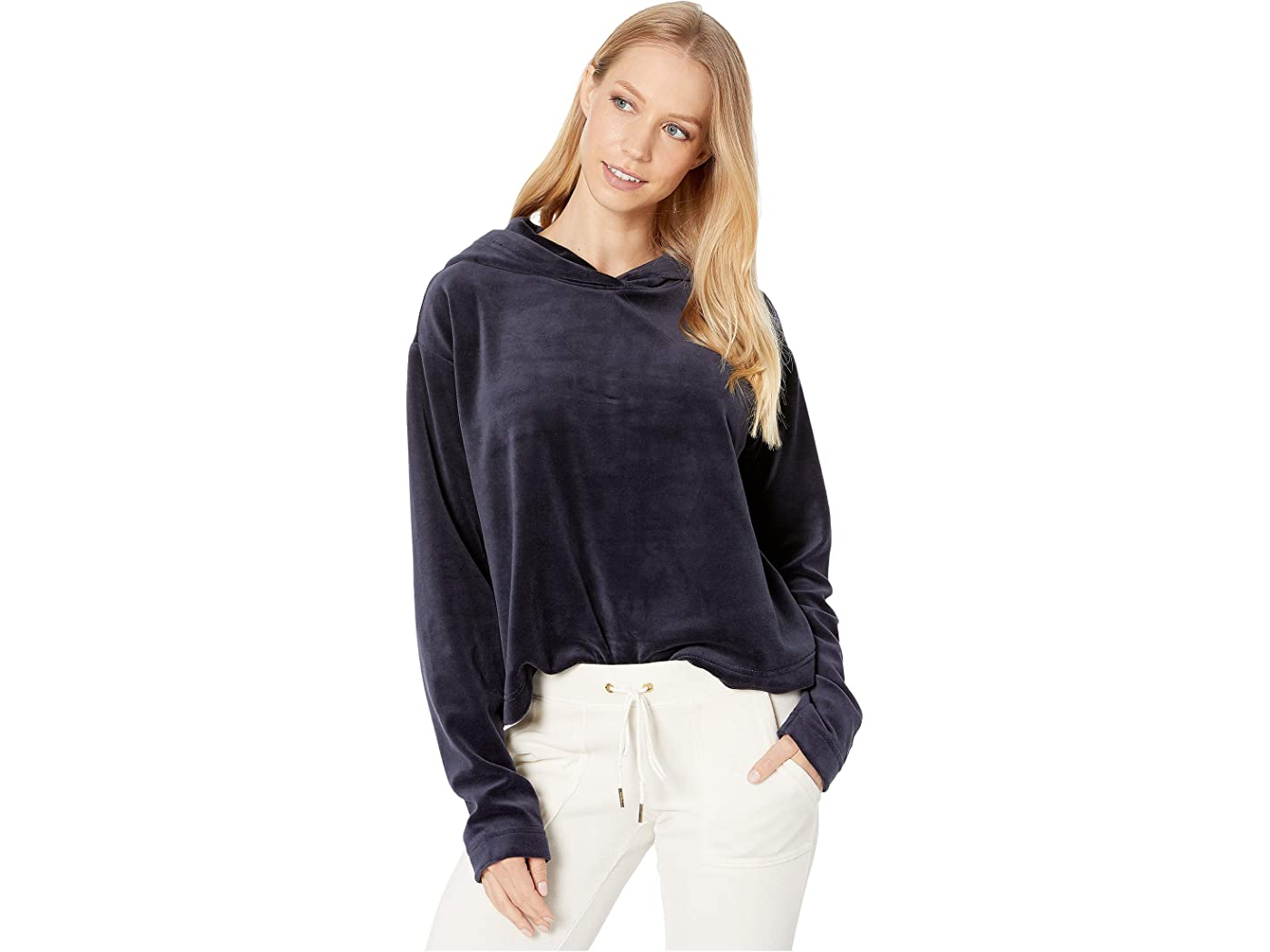 Juicy Couture Velour Hooded Pullover