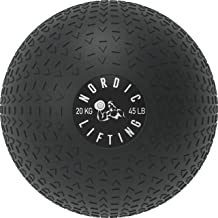 Dead Weight Slam Ball for Crossfit - Textured Slamball for Core & Fitness Training by Nordic Lifting
