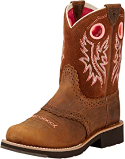 ARIAT Kids' Fatbaby Cowgirl Western Boot
