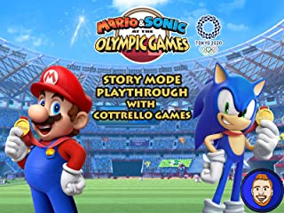 Mario & Sonic at the Olympic Games Tokyo 2020 Story Mode Playthrough with Cottrello Games