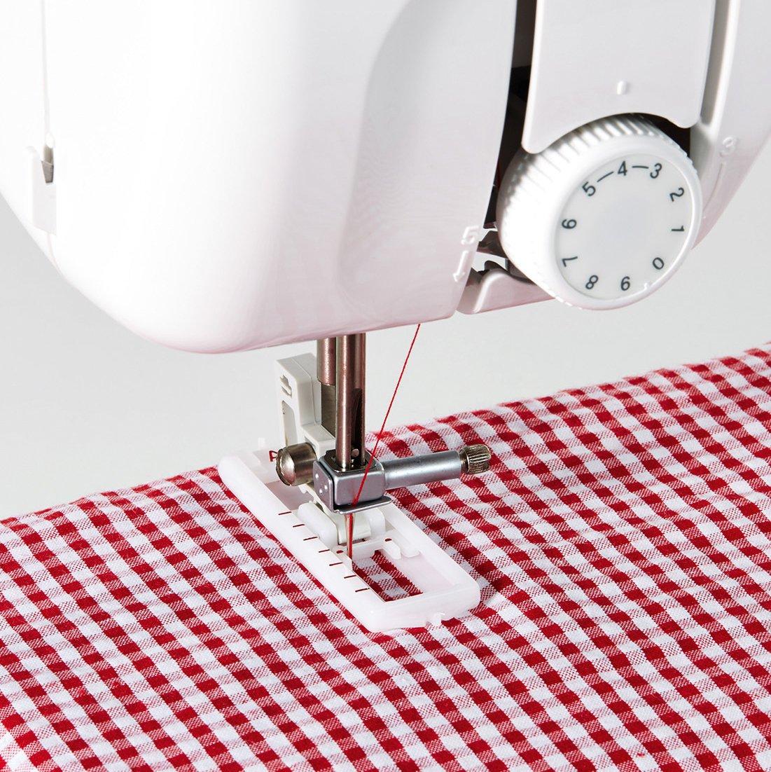 Brother x17s máquina de coser mecánico, color blanco/azul, 40 x 15 ...