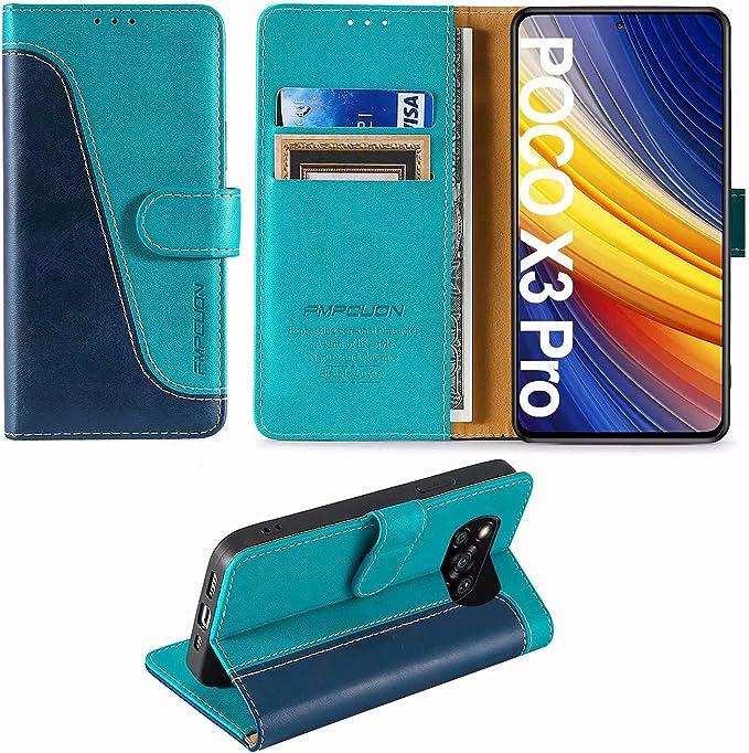 23 opiniones para FMPCUON Funda para Xiaomi Poco X3 NFC/Poco X3 Pro con Tapa,Funda Cartera
