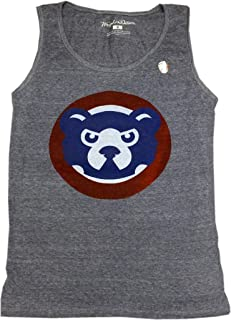 American Needle Chicago Cubs Tank Top Mens 84 Logo Grey
