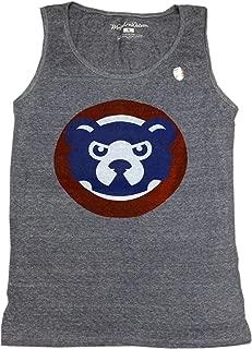 American Needle Chicago Cubs Tank Top Mens 84 Logo Grey