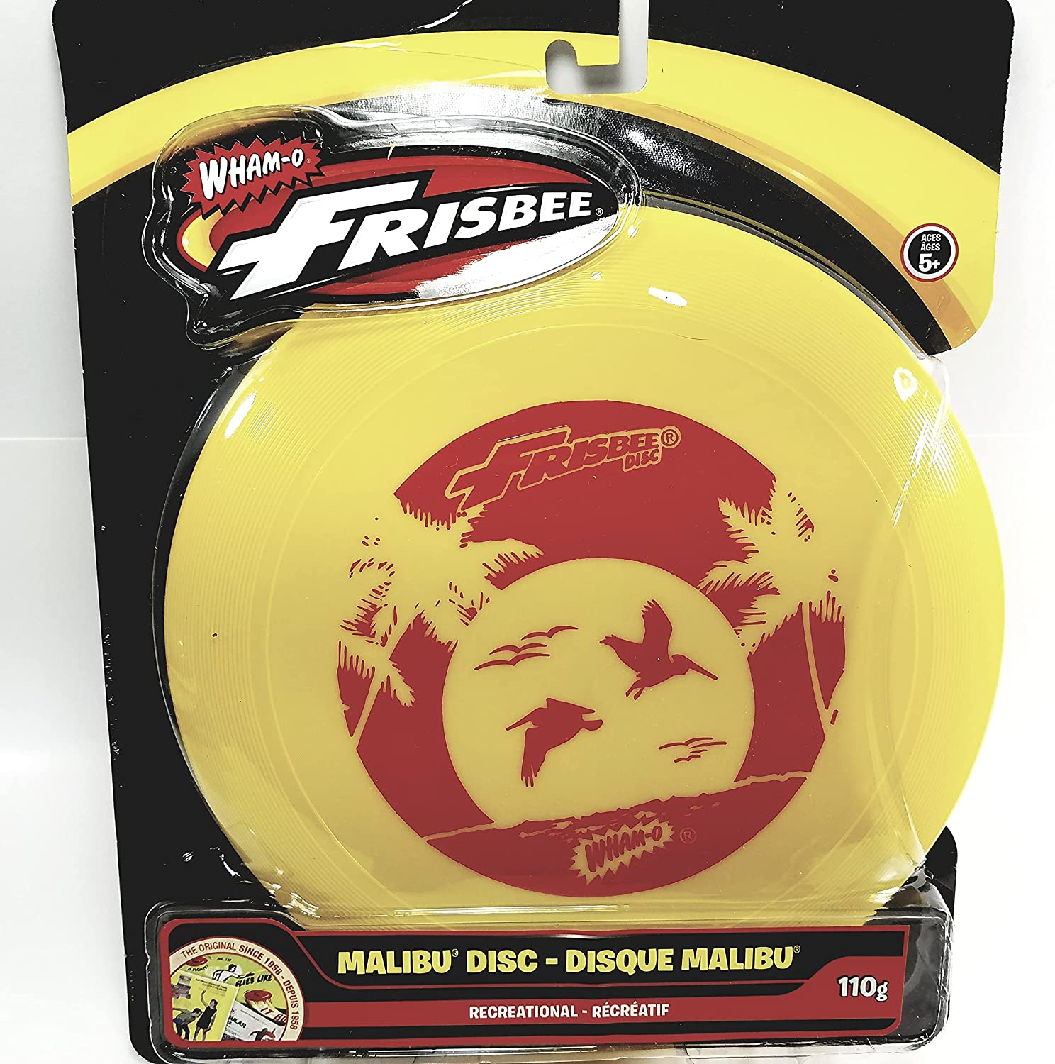 Wham-O Pineapple Yellow Classic Cheap Limited time for free shipping bargain Malibu S Frisbee in The Seagulls