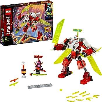 LEGO NINJAGO, L'avion-robot de Kai 2 en 1, Set de construction, Série Course Prime Empire, 100 pièces, 71707