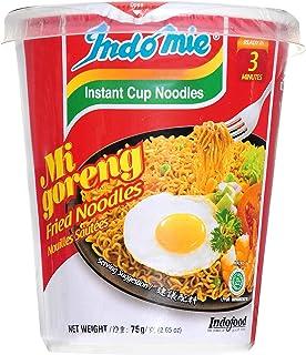 Indomie MiGoreng Instant Noodle Cup, 12x75 Grams