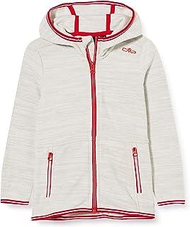 CMP Girls' Giacca in Pile Arctic Fleece con Cappuccio Jacket