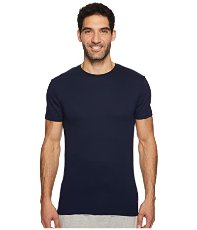 Polo Ralph Lauren Supreme Comfort Knit Crew Tee (Cruise Navy) Men