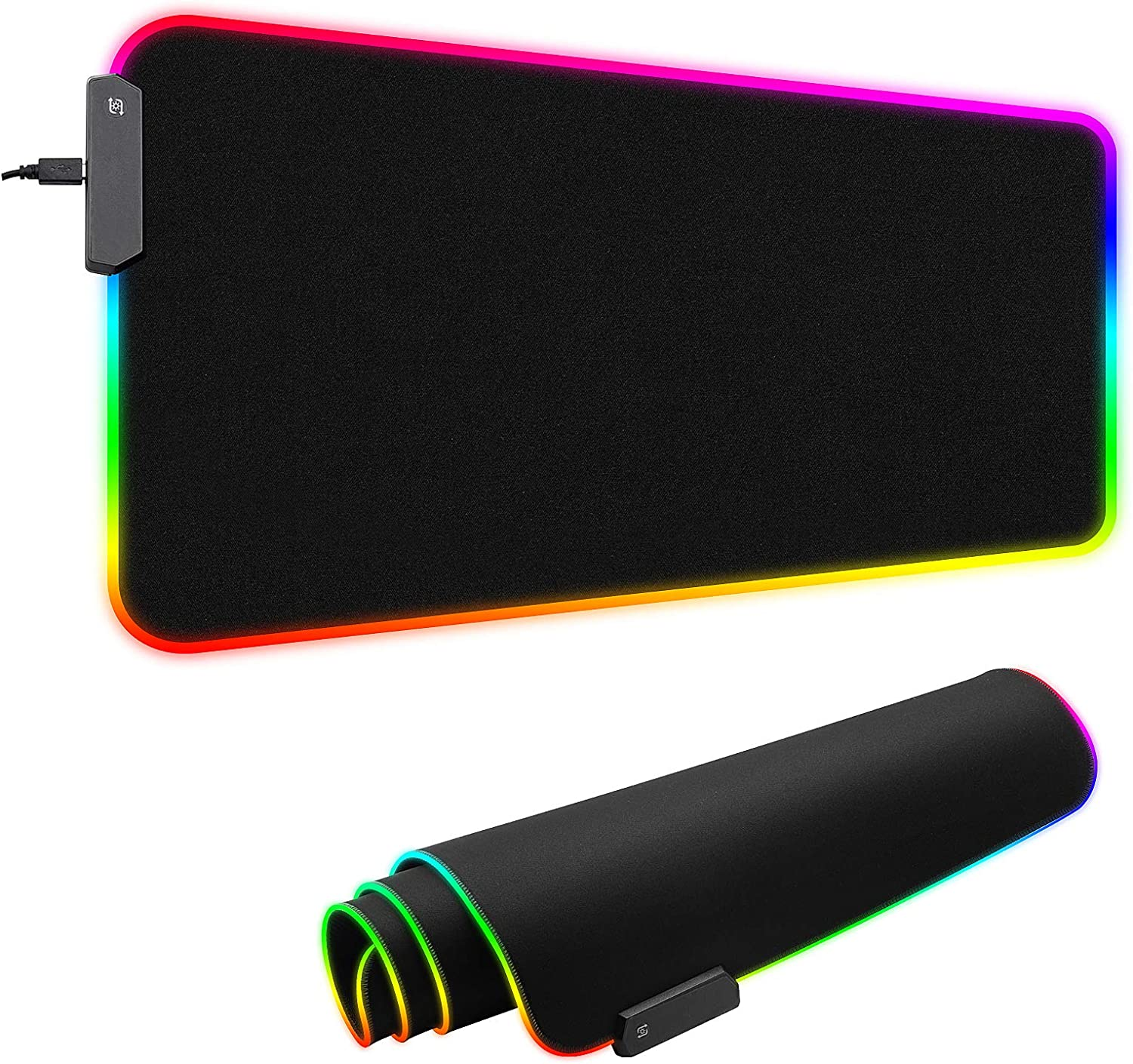 It is very popular Large RGB In a popularity Gaming Mouse Pad Mat Non-Slip Extended Soft Bas Rubber