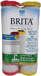 Brita USFS-1272 Lot de filtres de rechange pour eau potable