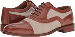 Right Bank Shoe Co™ - Indy Vachetta/Canvas Oxford