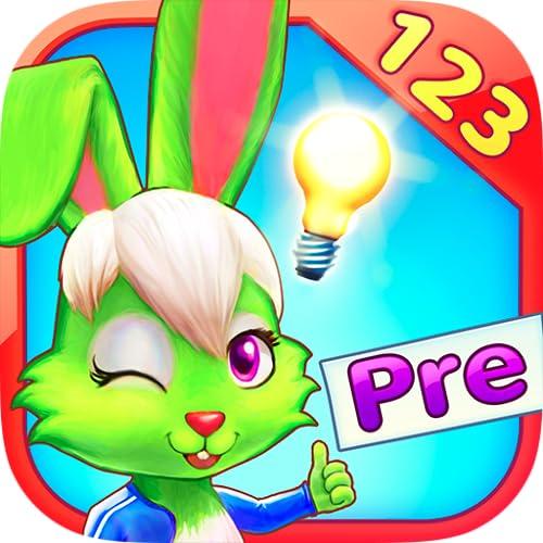Wonder Bunny: Carrera Matemática - Aplicación preescolar para aprender los números, la suma y la resta