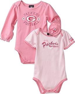 NFL Green Bay Packers Two Pack Bodysuit Infant/Toddler Girls'