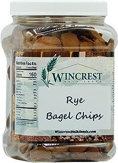 Rye Bagel Chips - 1.25 Lb Tub
