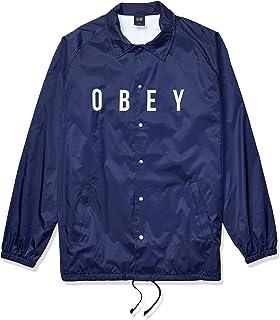 سترة رجالية من Obey مطبوع عليها Anyway Coaches