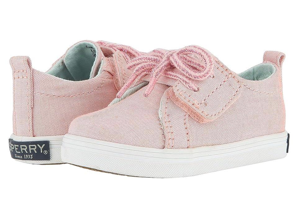 Sperry Kids Crest Vibe Crib Jr (Infant/Toddler) (Pink) Girl